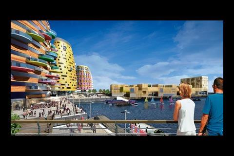 The £200m Middlehaven development in Middlesbrough Dock, by Studio Egret West and BioRegional Quintain